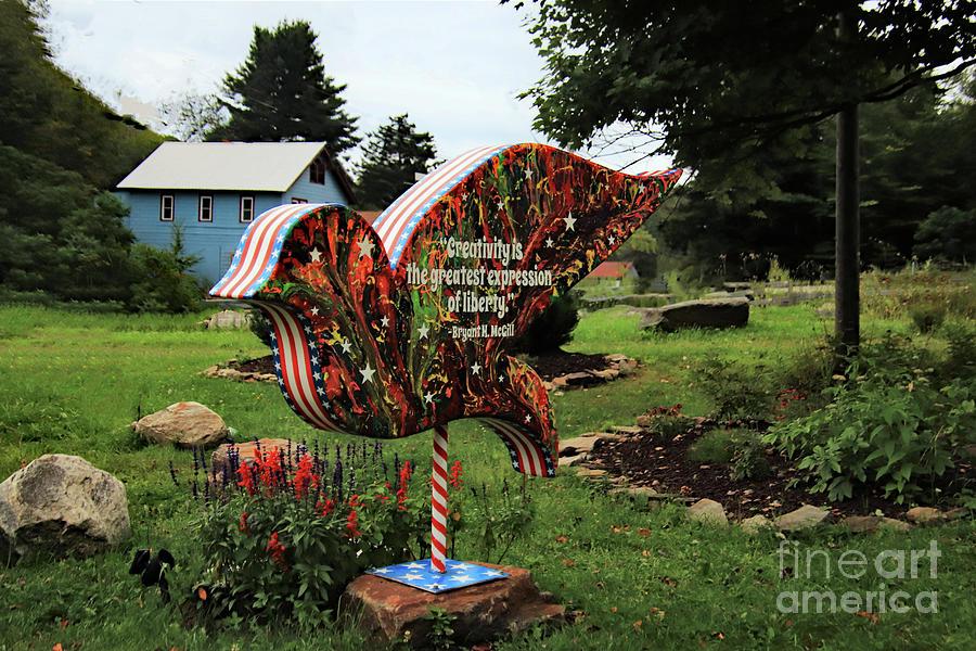 Parksville Dove Backside  by Karen Silvestri