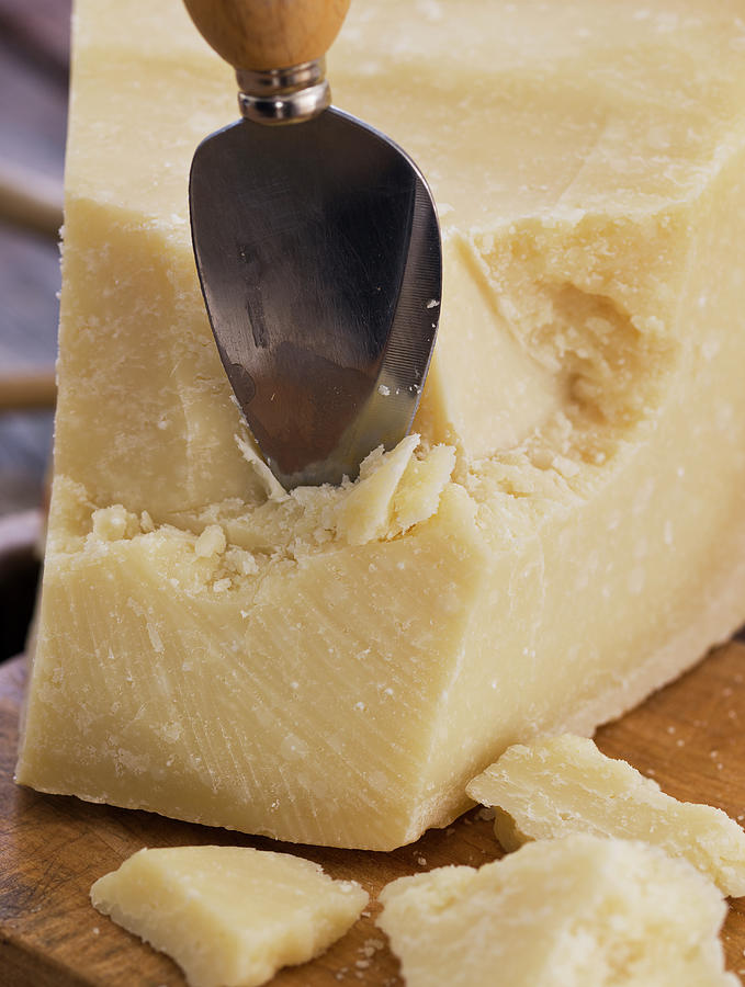 Parmesan Cheese With Spoon Photograph by Lindeblad, Matilda
