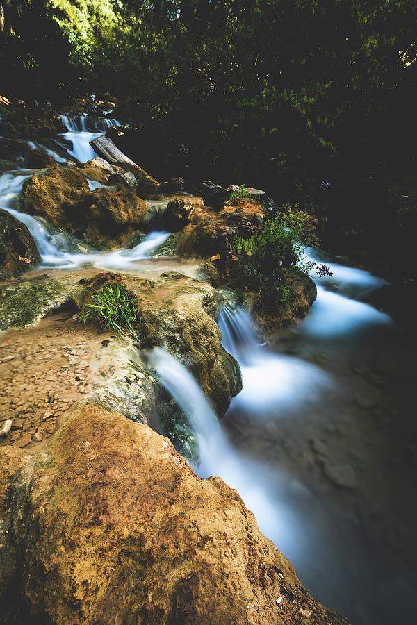 Parod Falls - 7 by Mati Krimerman