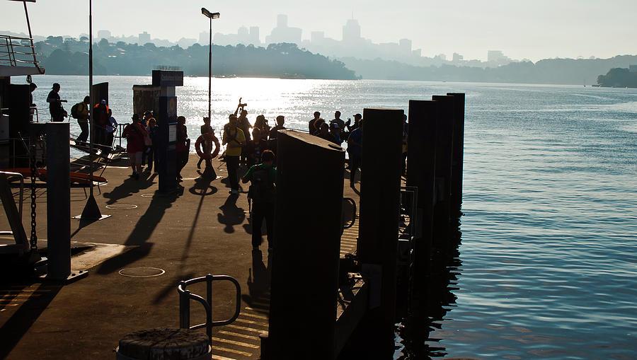 Parramatta Wharf At Cockatoo Island  by Miroslava Jurcik