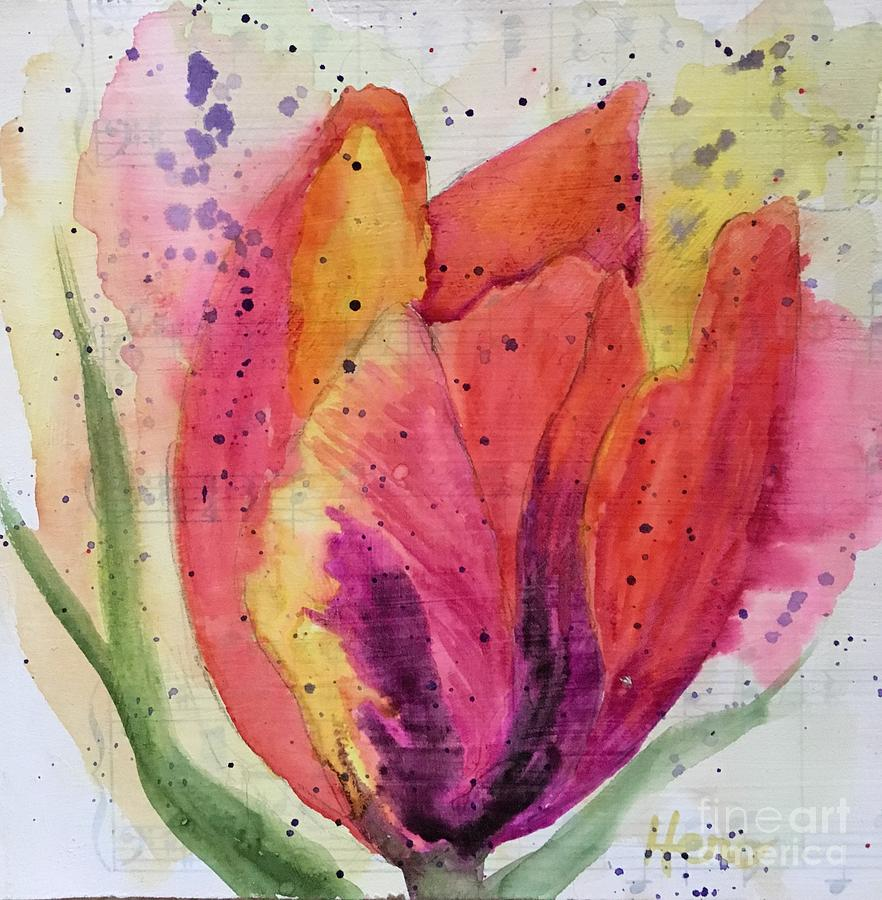 Parrot Tulip 1 by Marcia Hero