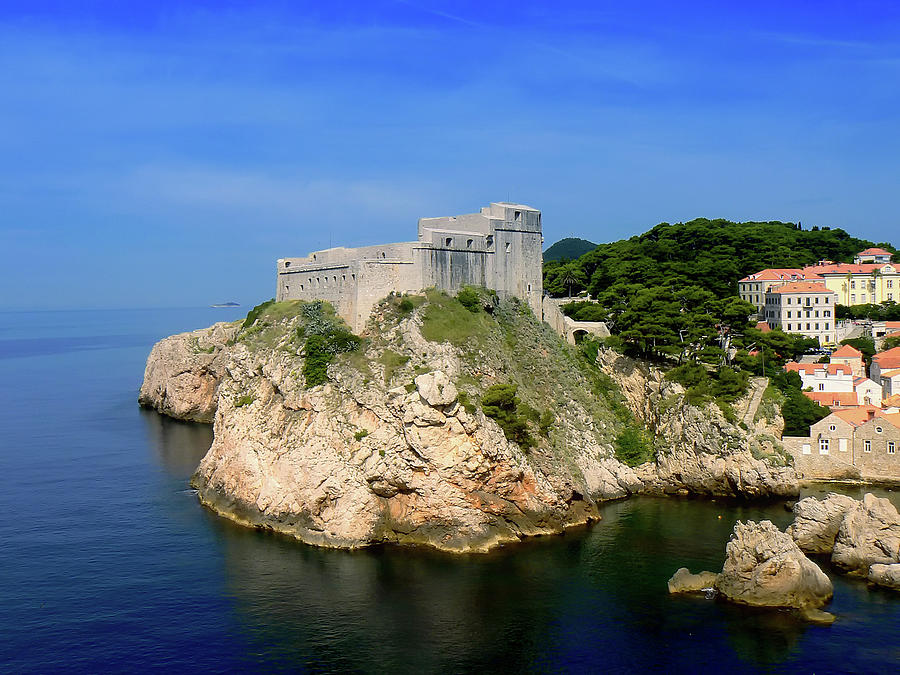 Part Of Dubrovnik Old Town Photograph by Alen Ajan