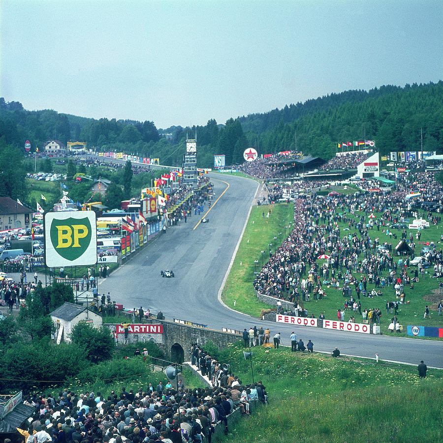 Part Of Spa-francorchamps Race Track Photograph by Heritage Images