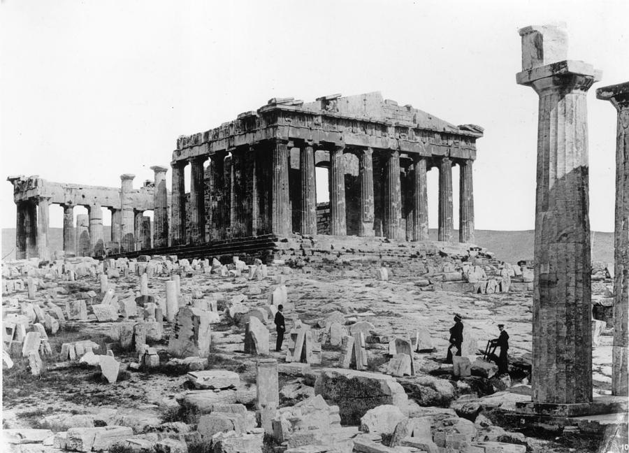 Parthenon Photograph by Henry Guttmann Collection