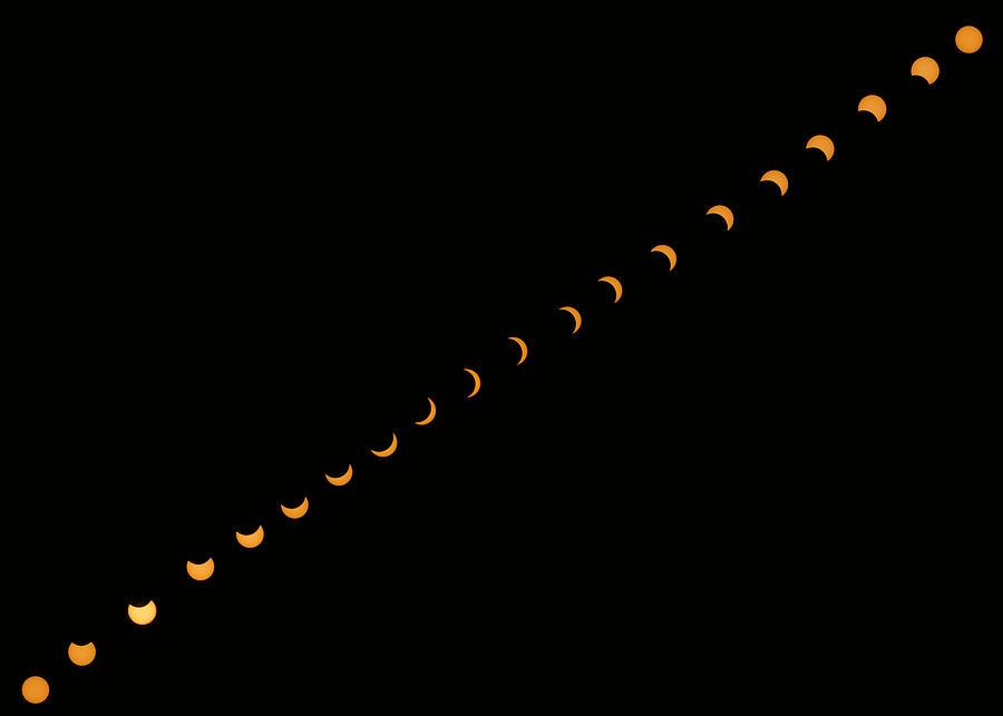 Partial Solar Eclipse by Karen Foley