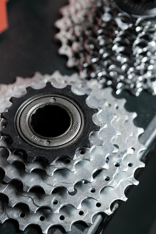 Parts Of Bike Photograph by Stewart Cohen
