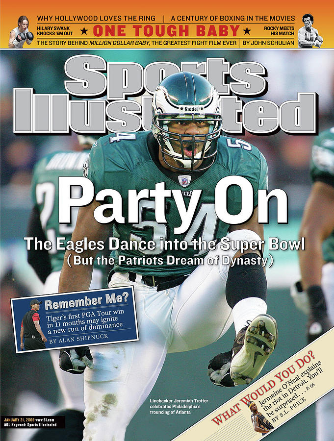 Party On The Eagles Dance Into The Super Bowl But The Sports Illustrated Cover Photograph by Sports Illustrated