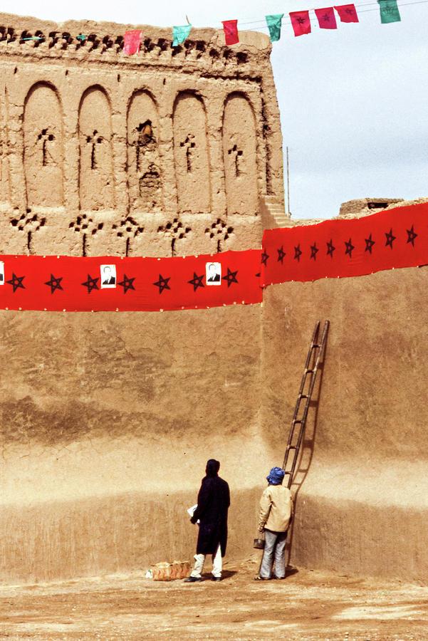 Party Preparations - The Sahara Photograph