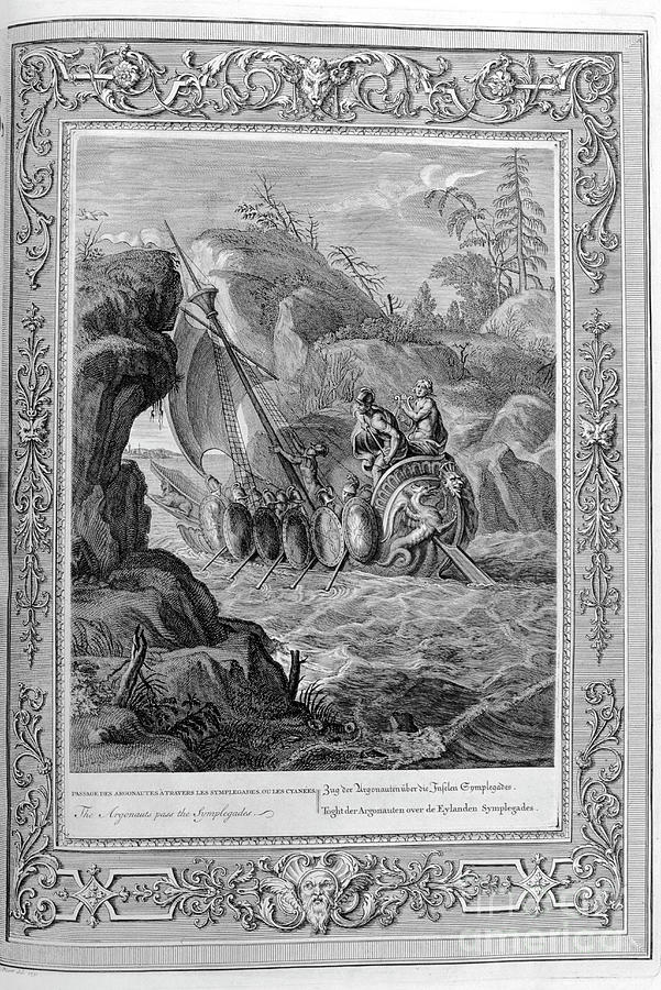 Passage Of The Argonauts Drawing by Print Collector