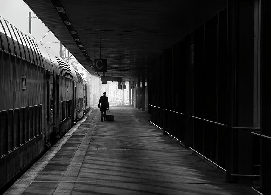 Suitcase Photograph - Passenger by Christoph Hessel