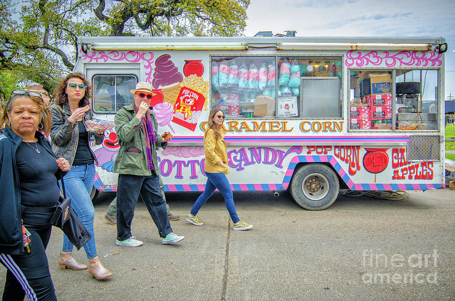 Passing by the Cotton Candy Truck by Kathleen K Parker