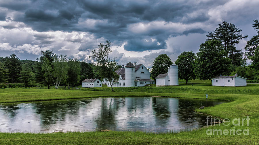Passing shower. by New England Photography
