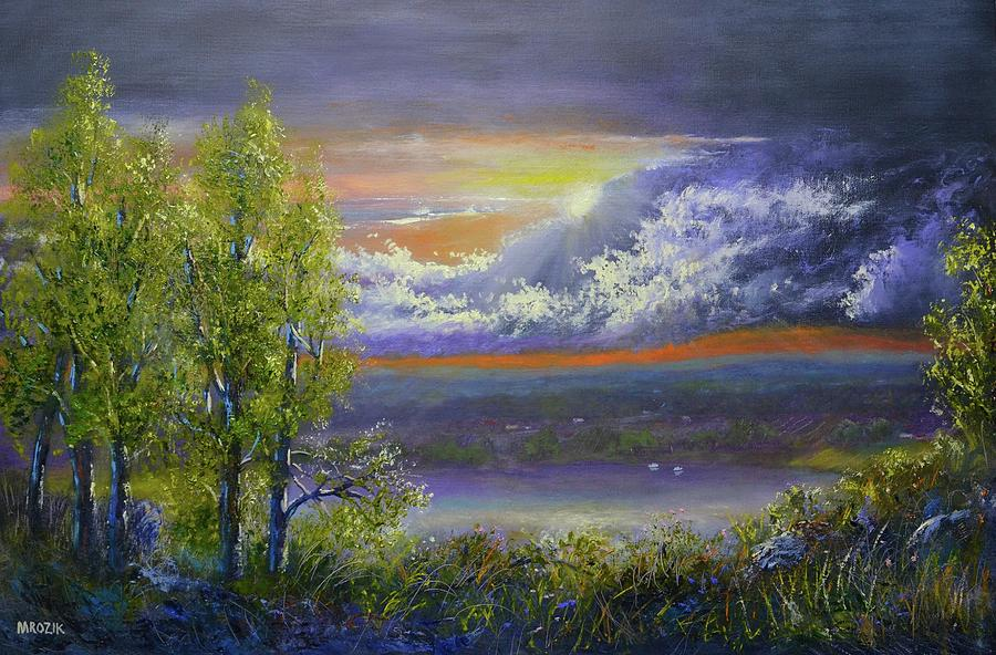 Passing Storm Painting