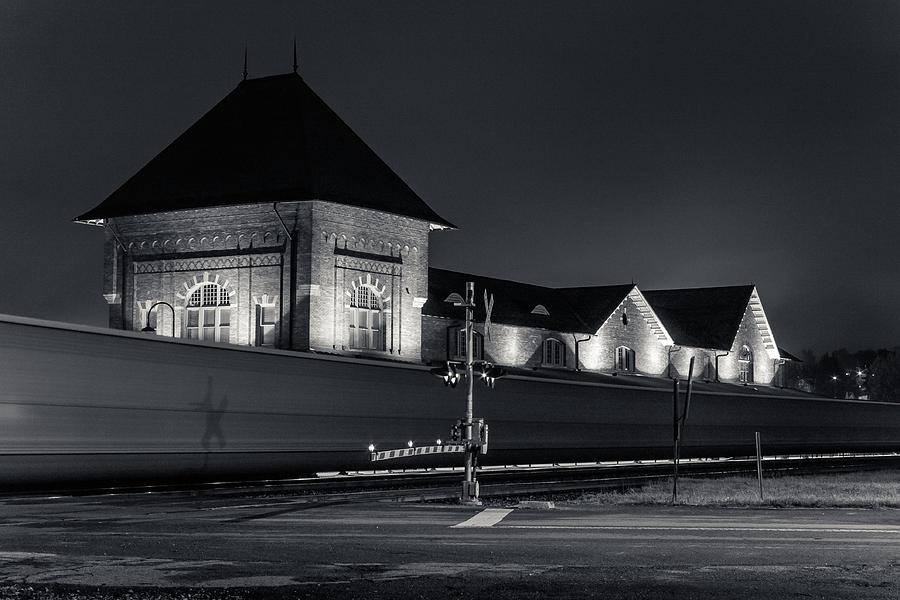 Passing the Bristol Train Station by Greg Booher
