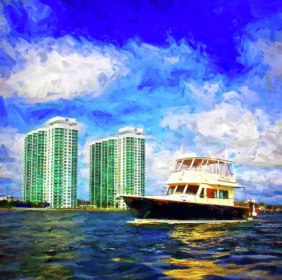 Passing The Marina Grande by Alice Gipson