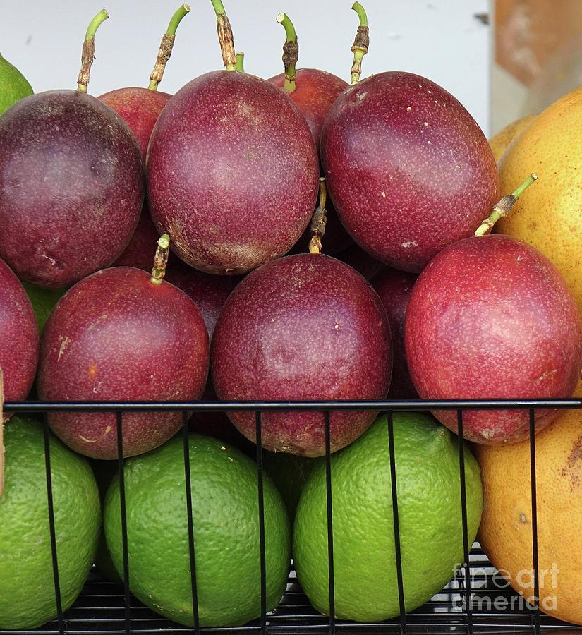 Passion Fruits and Lemons by Yali Shi