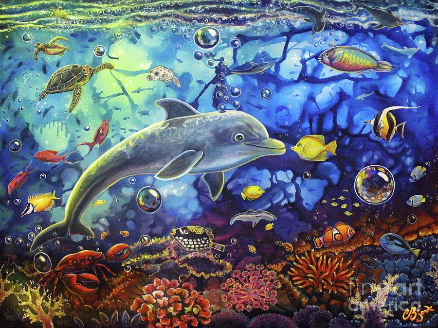 Past Memories New Beginnings Dolphin Reef by CBjork