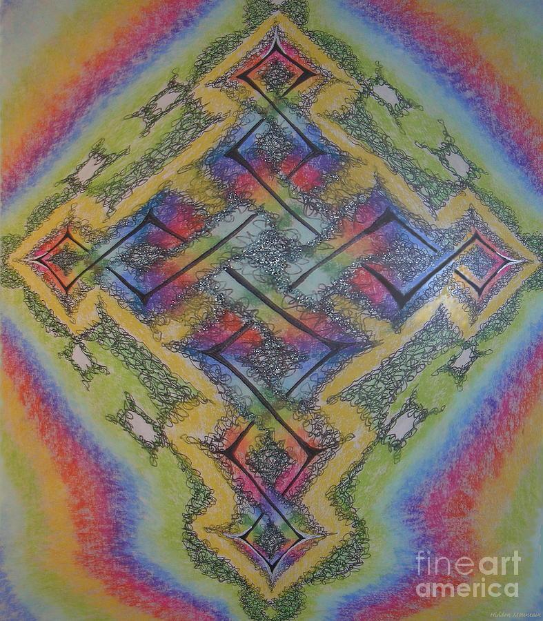 Pastel cross by Hidden Mountain