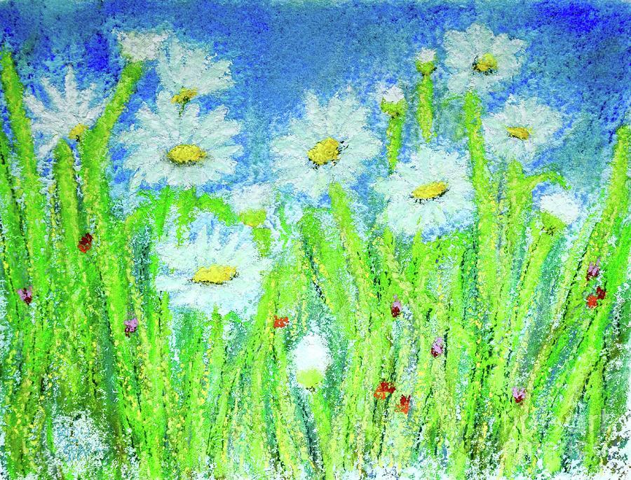 Pastel Daisy Love  by Barrie Stark