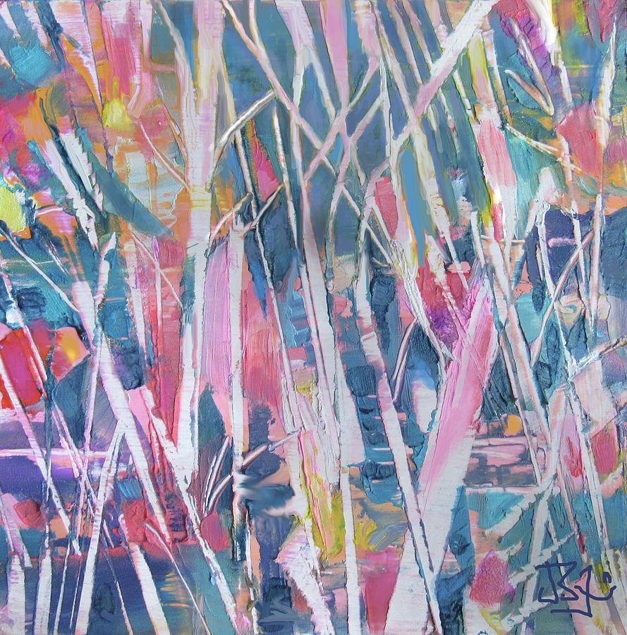 Pastel Forest by Jean Batzell Fitzgerald