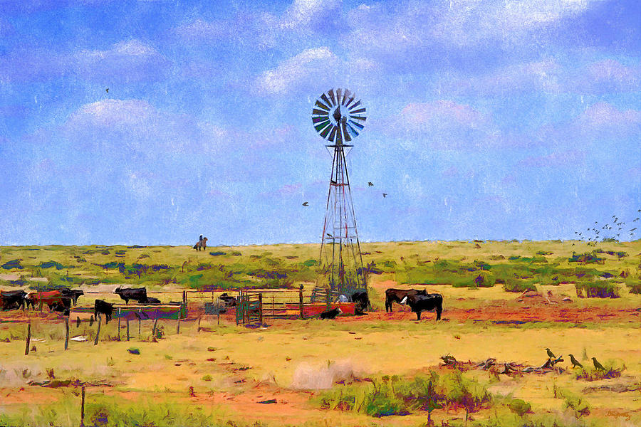 Plains Digital Art - Pastel Plains by Glenn McCarthy Art and Photography