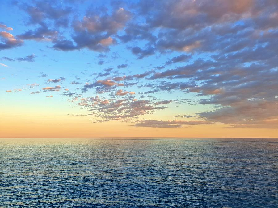 Pastel Sunset by Andrea Whitaker