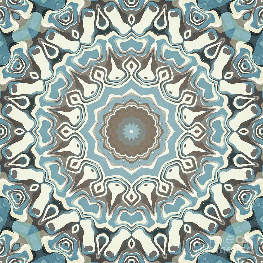 Pastels Mandala Pattern by Phil Perkins
