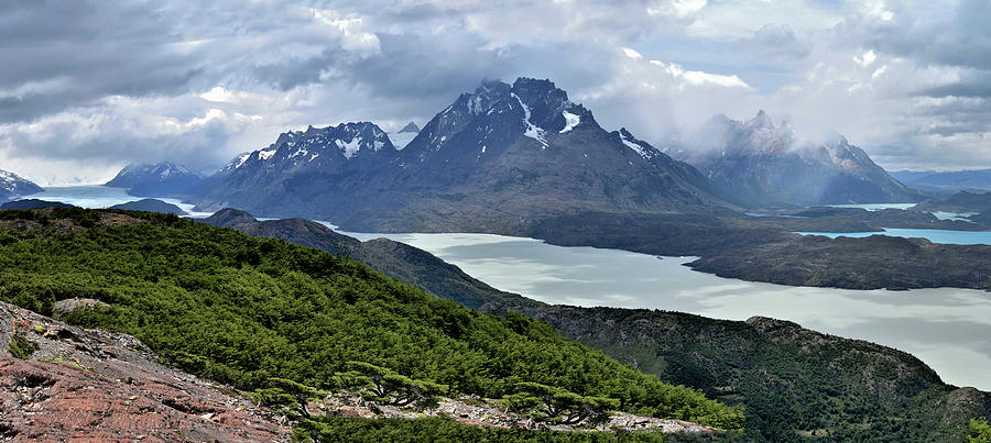 Patagonia - Torres del Paine Mountains - Main View by Jeremy Hall