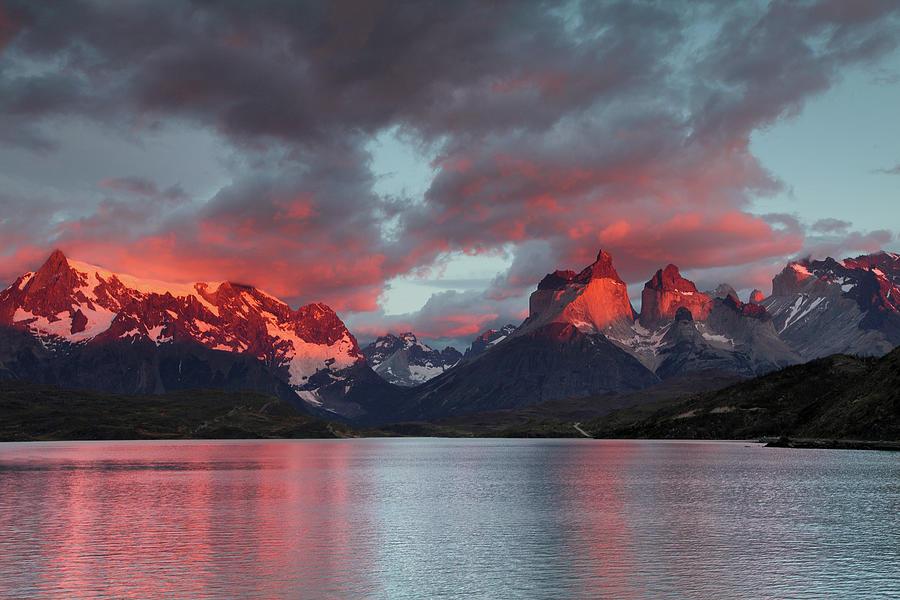 Patagonian Fireworks Photograph by Sandra Kreuzinger
