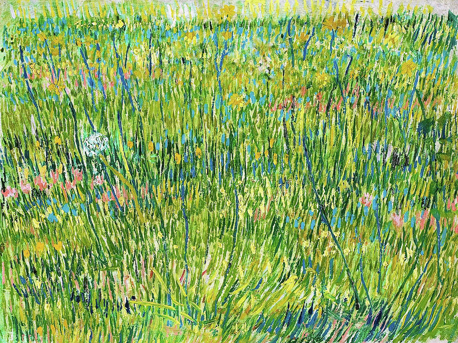 Vincent Van Gogh Painting - Patch Of Grass - Digital Remastered Edition by Vincent van Gogh