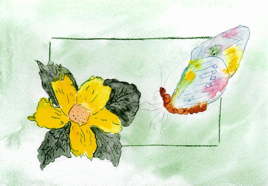 Patchwork Butterfly by Belinda Landtroop