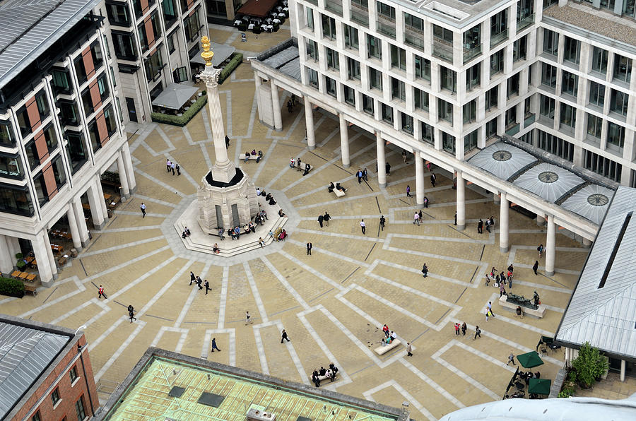 Paternoster Square from Saint Paul Dome, London by RicardMN Photography