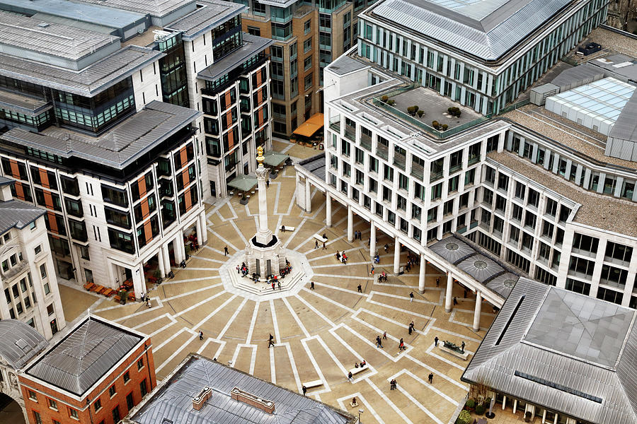 Paternoster Square by Nicholas Blackwell