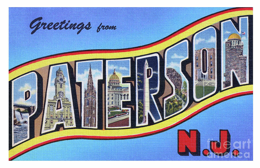 Paterson Greetings - Version 1 by Mark Miller