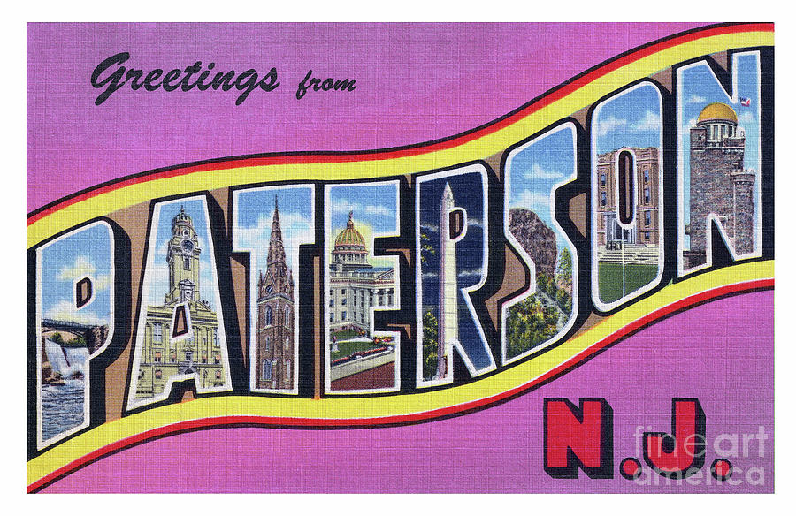 Paterson Greetings - Version 2 by Mark Miller