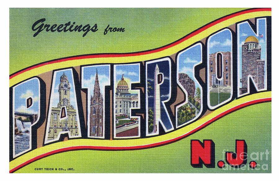 Paterson Greetings - Version 3 by Mark Miller
