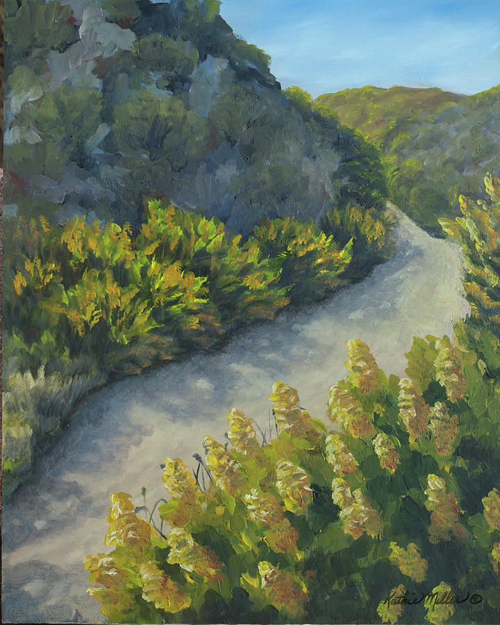 Path to the Beach by Kathie Miller