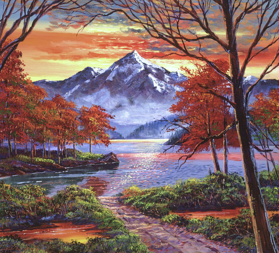 PATH TO THE SHIMMERING LAKE by David Lloyd Glover