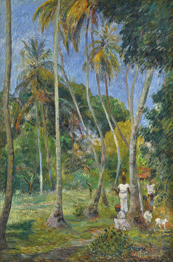 Path under the Palms by Paul Gauguin