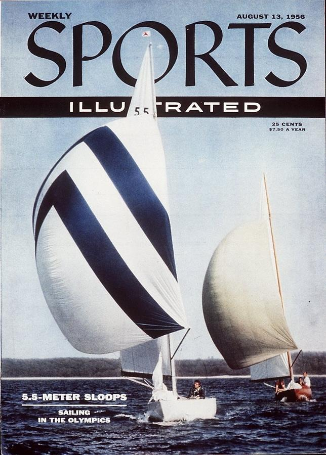 Pathfinder, Sailing Sports Illustrated Cover Photograph by Sports Illustrated