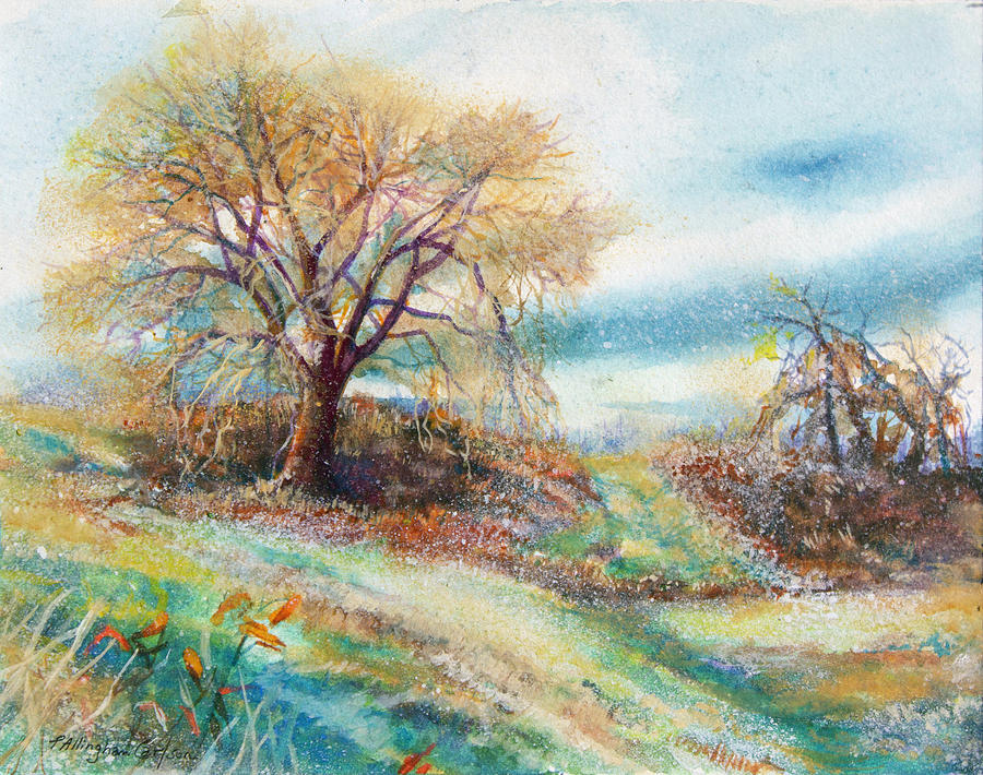 Pathway at Tamanend, Springtime by Patricia Allingham Carlson