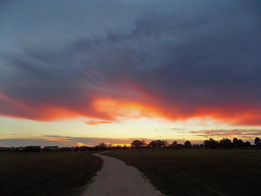 Sunset Photograph - Pathway To Heaven - In Memory by Matthew Seufer