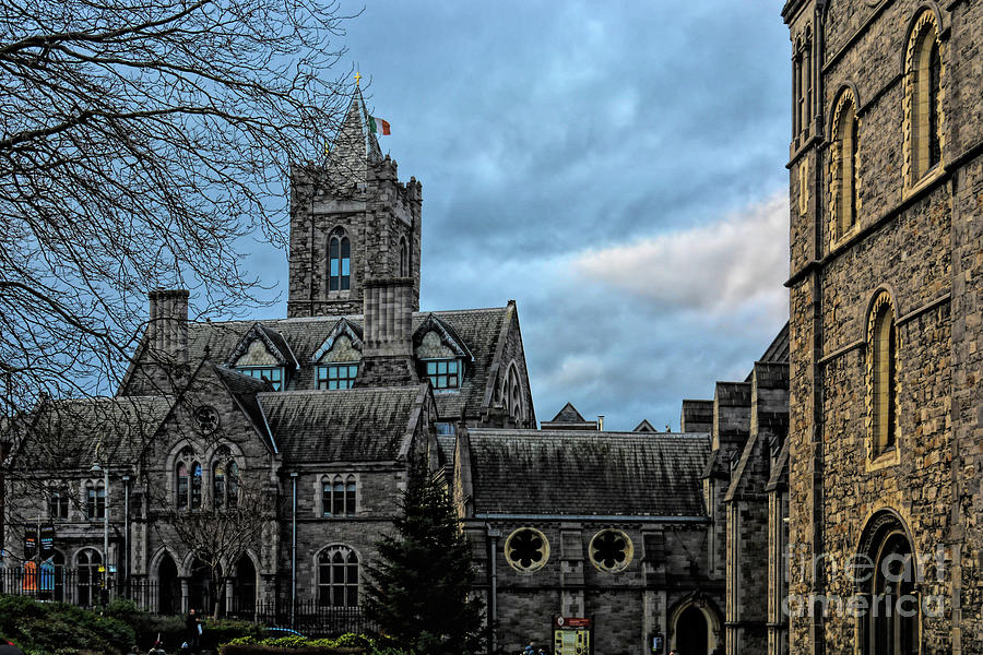 Patina of Age, Christ Church Cathedral, Dublin, Ireland by Rebecca Carr