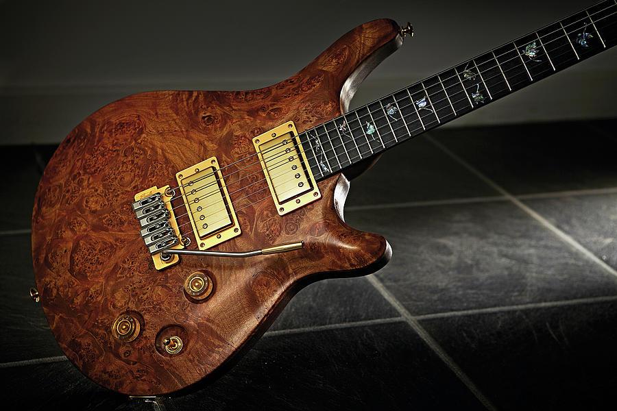 Patrick Eggle Berlin Evo Legend Guitar Photograph by Guitarist Magazine