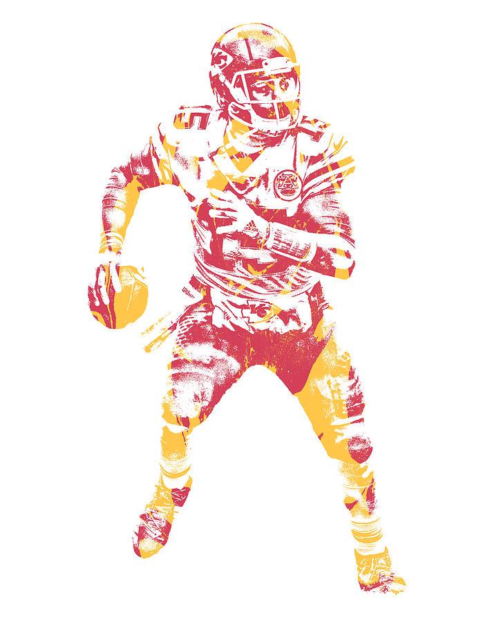 0c1938c49db Chiefs Mixed Media - Patrick Mahomes Kansas City Chiefs Pixel Art 13 by Joe  Hamilton
