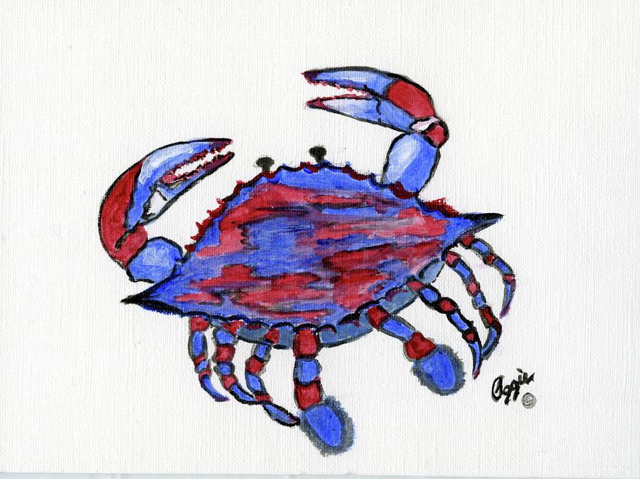 Patriotic Crab by Stephanie Agliano