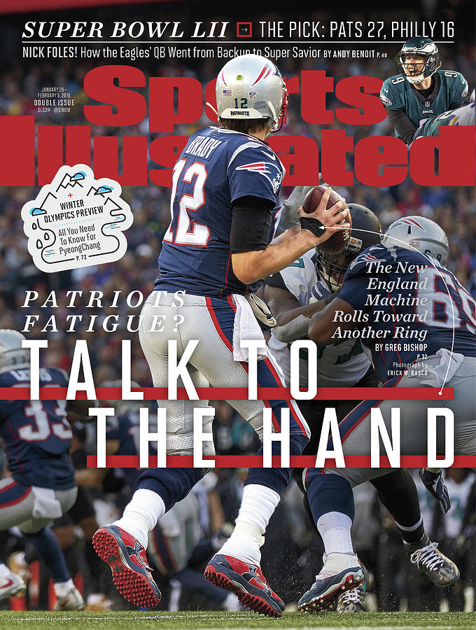 Patriots Fatigue Talk To The Hand Sports Illustrated Cover Photograph by Sports Illustrated
