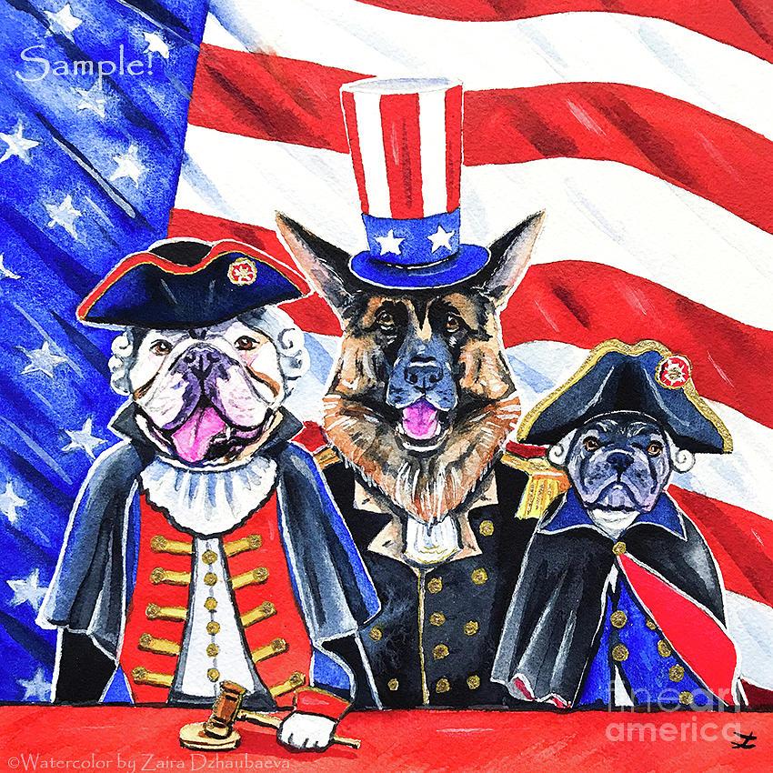 Patriots  by Zaira Dzhaubaeva