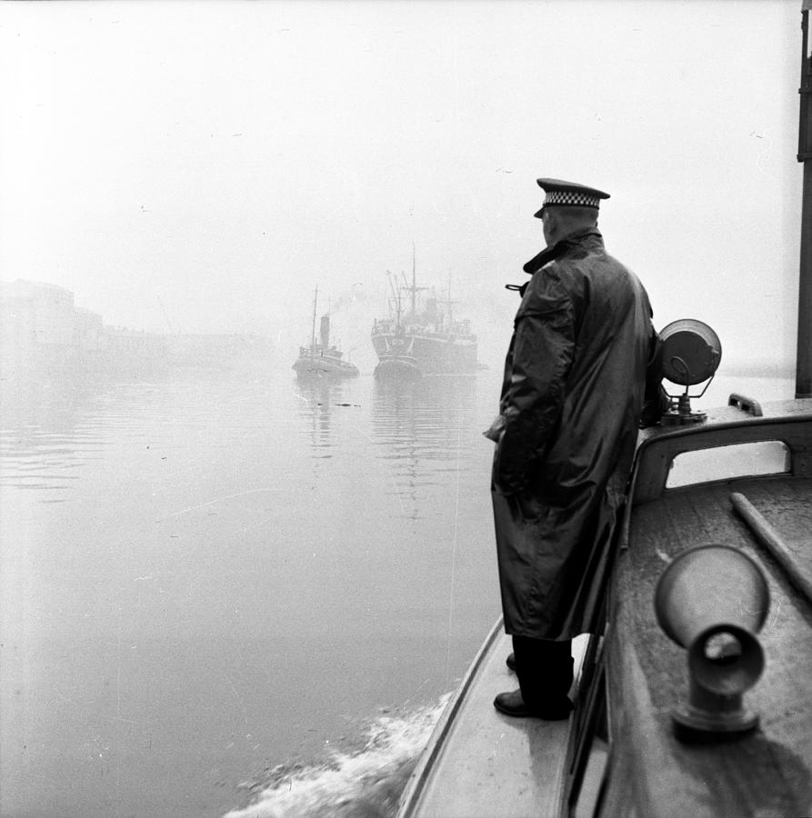 Patrolling The Clyde Photograph by Bert Hardy