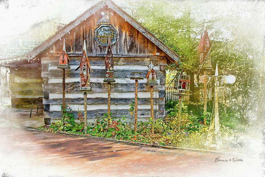 Patty's Birdhouse Cabin by Bonnie Willis